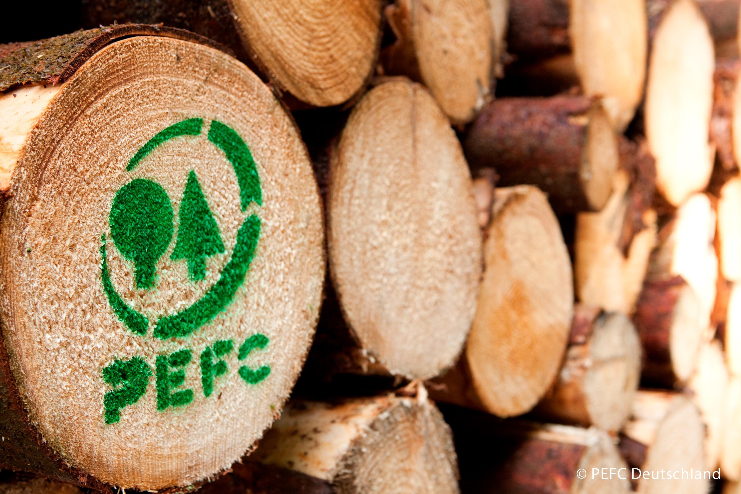Wir sind PEFC-zertifiziert