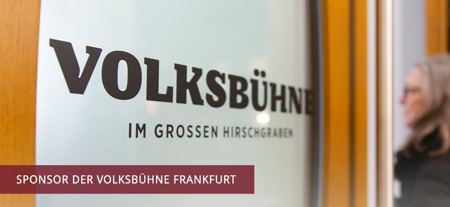 Sponsor der Volksbühne Frankfurt