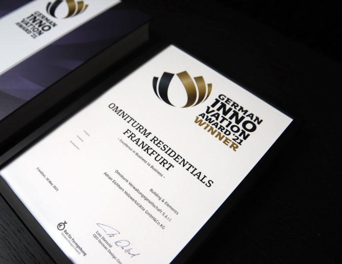 German Innovation Award Winner 2021
